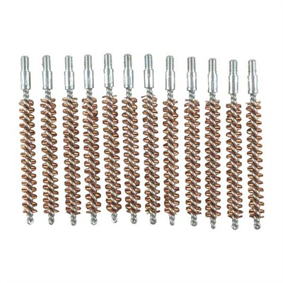 Brownells Standard Line Bronze Bore Brushes - 7mm Rifle Brush 12/Pack