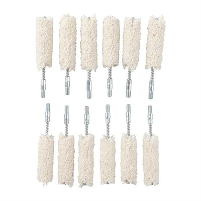 Brownells Cotton Bore Mops - Fits .44/.45, Per Dozen