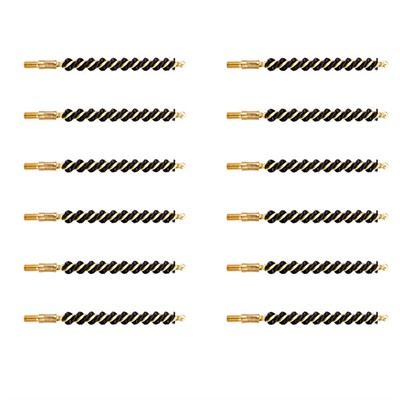 Brownells Heavy Weight Nylon Bore Brush - .243/.25 Rifle, Dozen