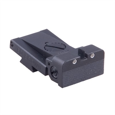 1911 Auto Adjustable Rear Night Sight