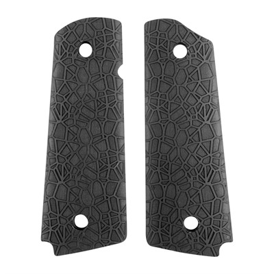 Ed Brown 1911 Labyrinth Grips - Labyrinth Grip, Black, Govt