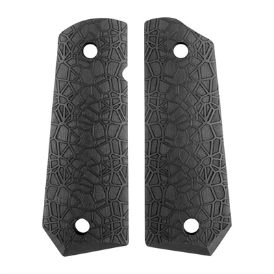Ed Brown 1911 Labyrinth Grips - Labyrinth Grip, Black, Govt Bt
