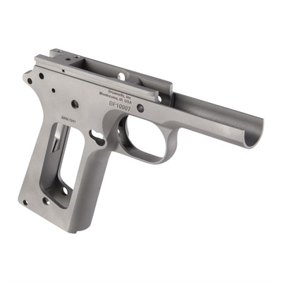 Brownells 1911 Government Model Frame - 1911 Government Model Frame, Stainless Steel
