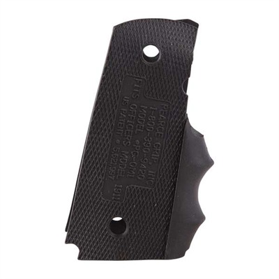 Finger-Groove Grip Enhancement - Officers Acp Grip Enhancement