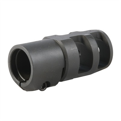 Fte Muzzle Brake 20 Caliber - Fte Muzzle Brake 20 Caliber 3/4-28 Steel Black