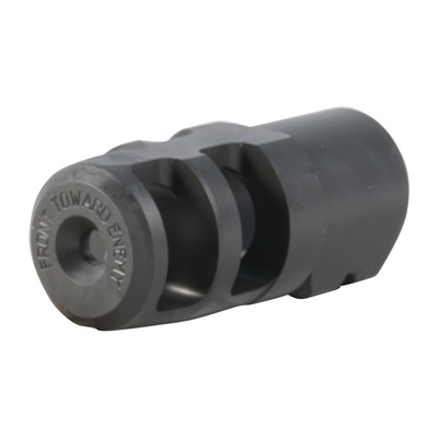Badger Ordnance Fte Muzzle Brake 20 Caliber - Fte Muzzle Brake 20 Caliber 3/4-24 Steel Black