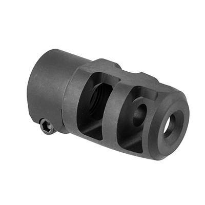 Badger Ordnance Mini Fte Muzzle Brake 30 Caliber - Mini Fte Muzzle Brake 30 Caliber 5/8-24 Steel Black