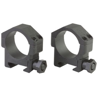 Maximized Scope Rings - 30mm Medium Steel Scope Rings