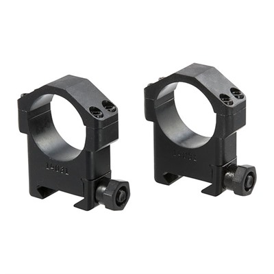 Maximized Scope Rings - 30mm High Steel Scope Rings