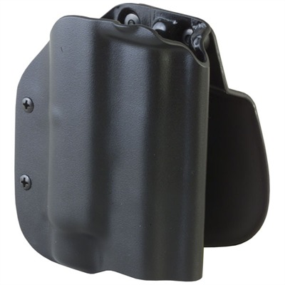 Classic Owb Holster With Tac-Light - Owb Holster-Glock 17/22/31 W/Insight M6-Black-Rh-Paddle