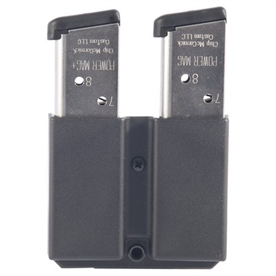 Revolution Double Pistol Mag Pouch - Revolution Double Mag Pouch-1911 .45 Single Stack-Tek Lok