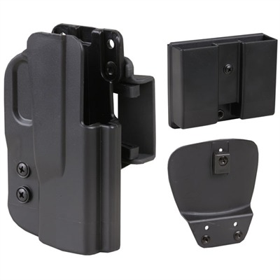 Semi-auto Pistol Injection Molded Holster Combo Packs Glock 19 / 23 / 32 : Shooting Accessories by Blade-tech for Gun & Rifle