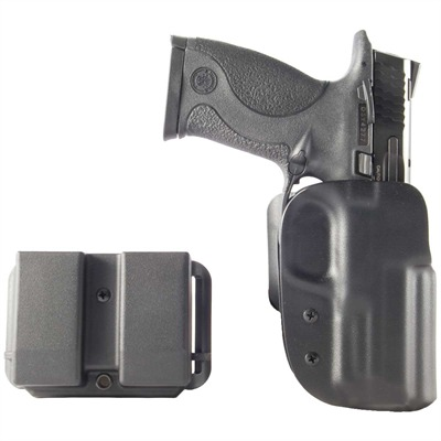 Idpa Competition Pak - Idpa Competition Shooters Pack-S&W M&P 9/40-Black-Rh