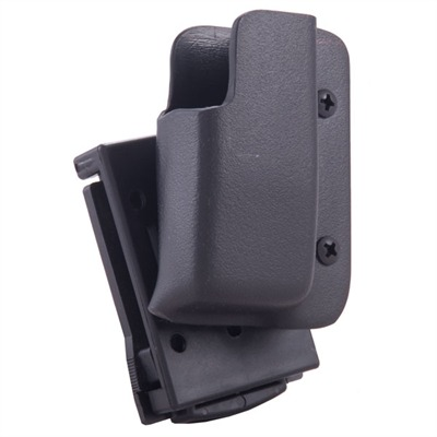 Pro-Series Single Mag Pouch - Pro Series Single Mag Pouch-Glock 9/40-Black-Rh-Tek Lok