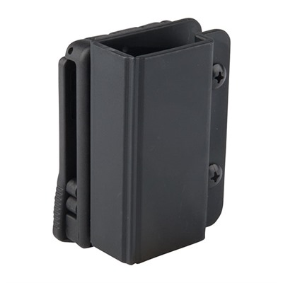 Revolution Single Mag Pouch - Revolution Single Mag Pouch-Double Stack 9/40-Black-Teklok