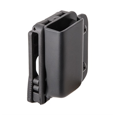 Classic Single Mag Pouch - Single Mag Pouch-S&W M&P Shield-Black-Rh-Tek Lok