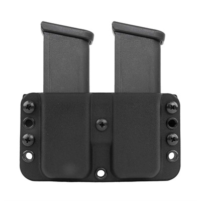 """Eclipse Double Mag Pouch - Eclipse Double Mag Pouch-1911 Single Stack-1.5"""" -E-Loops"""