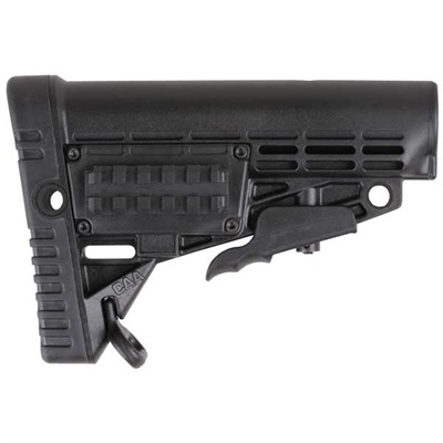 Ar-15 Modular Stock Collapsible Commercial - Ar-15 Modular Stock Collapsible Commercial Blk