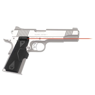Crimson Trace Corporation 1911 Full-Size Front Activation Lasergrips - 1911 Full-Size Red Lasergrips