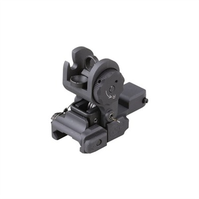 Ar-15  40 Std. A2 Rear Sight - Ar-15  Flip-Up Adjustable 40 Std. A2 Rear Sight Black
