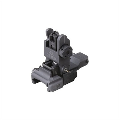 Ar-15/M16 Flip-Up Rear Sight - 40l Low Profile Sight