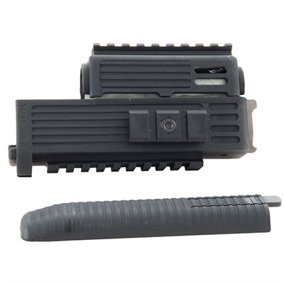 Ak-47 Intrafuse Quad Rail Handguard - Intrafuse Quad Rail Handguard, Black