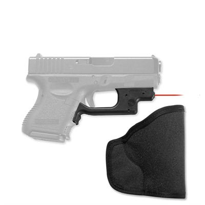 Crimson Trace Corporation Glock Compact/Subcompact Laserguard With Pocket Holster - Glock Compact/Subcompact Red Laserguard + Pocket Holster