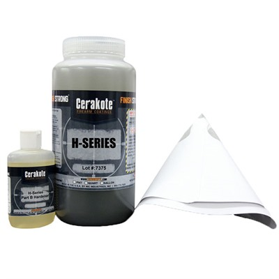 Nic Industries Cerakote Ovencure Ceramic Coatings - Cerakote Oven Cure Refill, Graphite Black, Quart