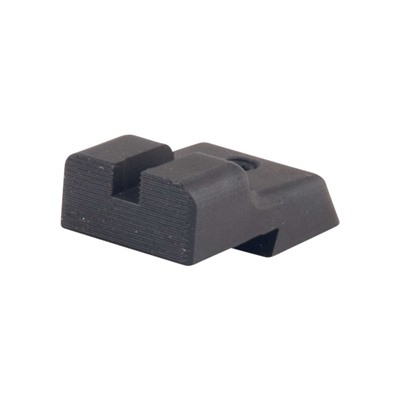 Harrison Design & Consulting 1911 Novak Cut Rear Sight - Novak-Cut Rear Sight Plain Blk