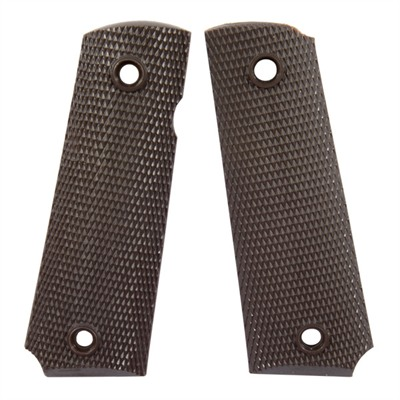 Hayes Tooling Plastics Inc 1911 Molded Grips Nylon Grips Brown