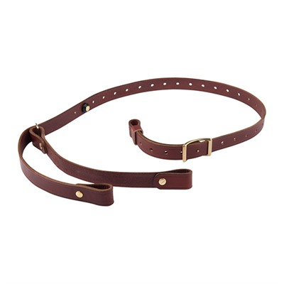 "Andys Leather Ching Specialty Slings Ching Specialty Sling, 1"", Chestnut"