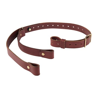 "Andys Leather Ching Specialty Slings Ching Specialty Sling, 1.25"", Chestnut"