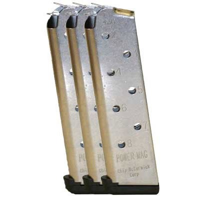 Chip Mccormick Custom, Llc. 1911 45acp Power Magazine 3 Packs