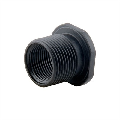 Precision Armament Thread Adapter 1/2-28 To 5/8-24 - Thread Adapter 1/2-28 To 5/8-24 Black