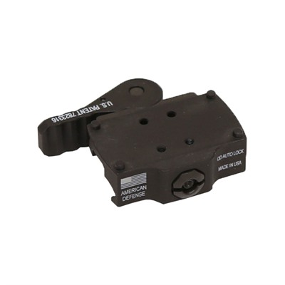 American Defense Manufacturing Burris Fastfire Mount - Burris Fastfire Qd Low Mount