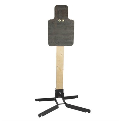 Challenge Targets Steel Handgun & Rifle Targets With Heavy Base - Steel Torso Handgun & Rifle Target With Heavy Base