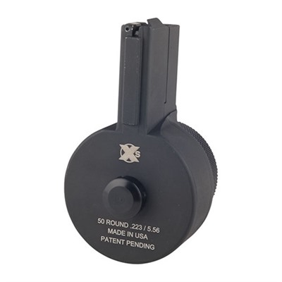 X Products Ar-15/M16 50rd 223/5.56x15 Drum Magazine