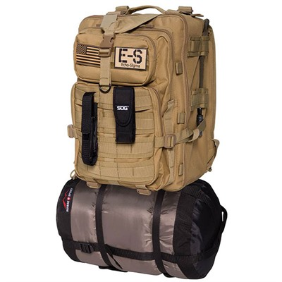 Bug Out Bag - Echo-Sigma Emergency Bug Out Bag Classic, Coyote