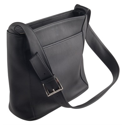 Concealed Carry Purses - Black Del Holster Handbag