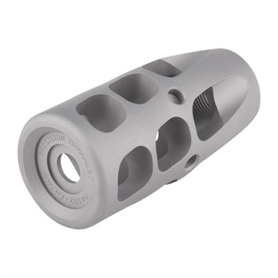 Ar .308  M41 Muzzle Brake 30 Caliber - M41 Muzzle Brake 30 Caliber 5/8-24 Ss Silver