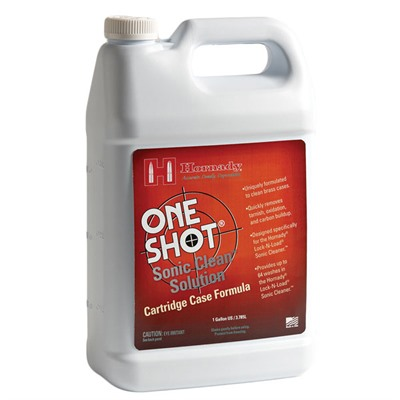 Hornady One Shot Sonic Clean Solutions - One Shot Sonic Clean Brass Solution, 1 Gal.