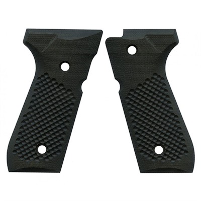 Vz Grips- Beretta 92 Golfball Grips - Beretta 92 Golf Ball Black