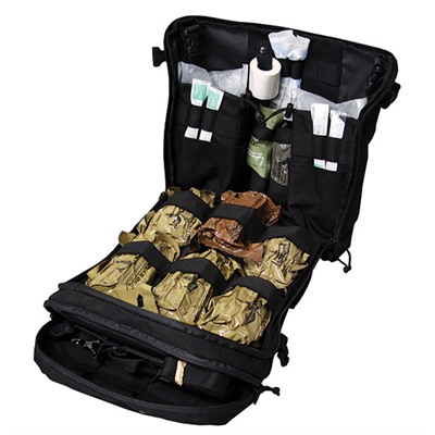 Tac Med Solutions Tactical Medical Solutions Trauma Kits: Raid Bag - Raid Bag-Black