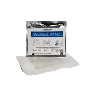 Tac Med Solutions Tactical Medical Solutions Trauma Kits: Bandages - Russel Chest Seal