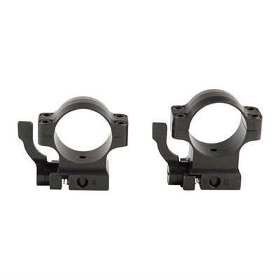 Alaska Arms Ruger Quick Detach Rings - Offset Base Qd Ruger Rings 1 Inch Low