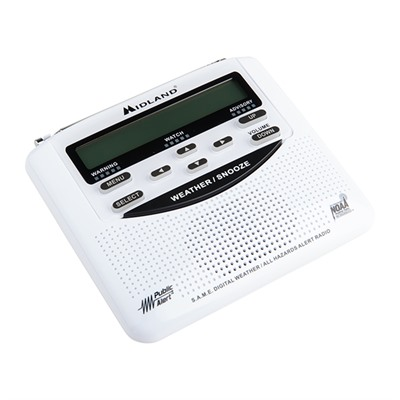 Same Weather Alert Radio