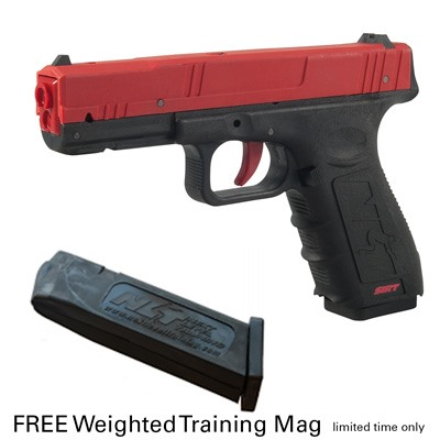 Sirt Performer Training Pistol With Magazine - Sirt Training Pistol Red Slide W/Magazine