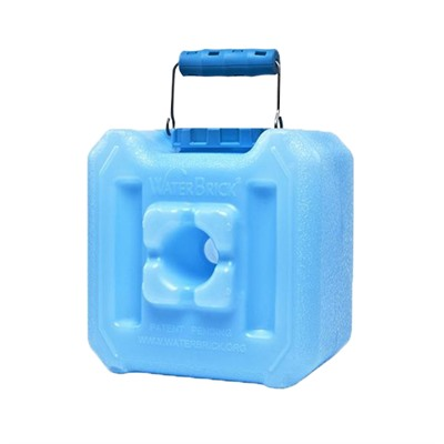 Stackable Water And Food Storage Containers - 1.6 Gallon-Blue