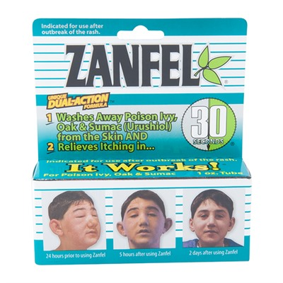 Zanfel Poison Ivy, Oak & Sumac Wash 1 Oz Tube