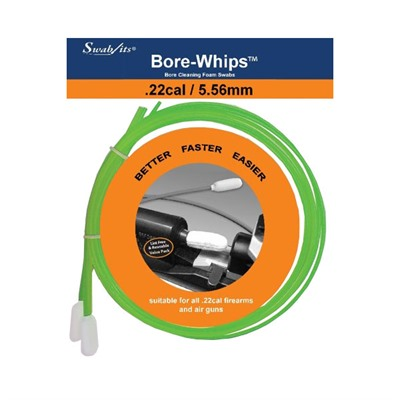 Bore-Whips By Swab-Its - .22 Cal